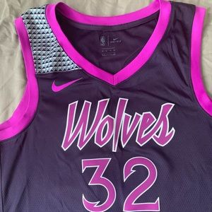 Timberwolves Purple Reign City Jersey (Limited)